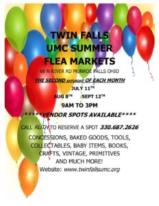Community Flea Market @ Twin Falls UMC